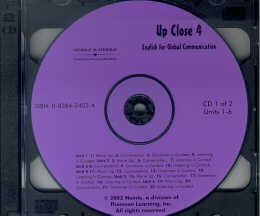 UP CLOSE 4 - CLASSROOM CD