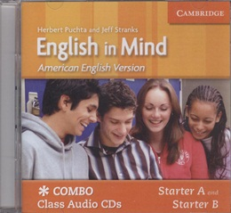 AMERICAN ENGLISH IN MIND STARTER A/B AUDIO CD - 1ST ED