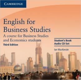 ENGLISH FOR BUSINESS STUDIES - CD (2) 3RD EDITION