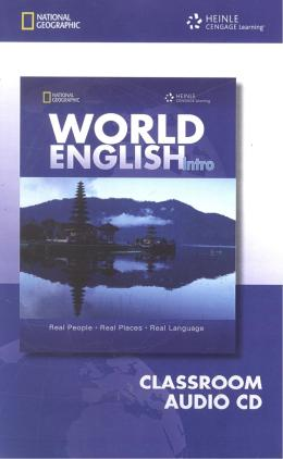 WORLD ENGLISH INTRO CD AUDIO - 1ST ED