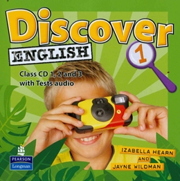 DISCOVER ENGLISH 1 CLASS AUDIO CD - 1ST ED