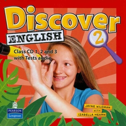 DISCOVER ENGLISH 2 CLASS AUDIO CD - 1ST ED