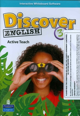 DISCOVER ENGLISH 3 ACTIVE TEACH (INTERACTIVE WHITEBOARD SOFTWARE) - 1ST ED