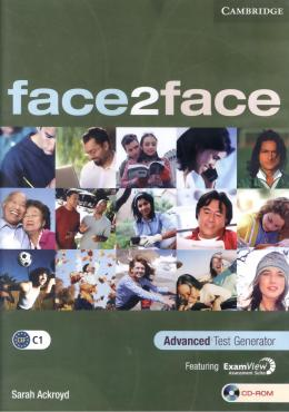 FACE2FACE ADVANCED TEST GENERATOR CD-ROM - 1ST ED