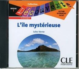 ILE MYSTERIEUSE, L´ NIVEAU 1 (CD AUDIO)