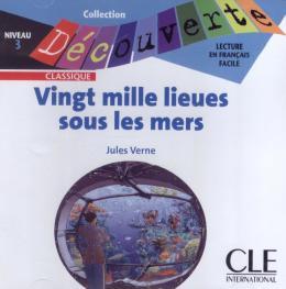 VINGT MILLE LIEUES SOUS LES MERS - NIVEAU 3 (CD AUDIO)