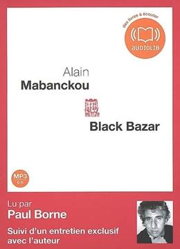 BLACK BAZAR - AUDIO LIVRE 1CD MP3