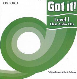GOT IT! 1 CLASS CD - 1ST ED
