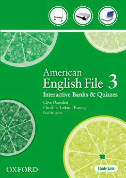 AMERICAN ENGLISH FILE 3 INTERACTIVE BANKS AND QUIZZES CD-ROM - 1ST ED