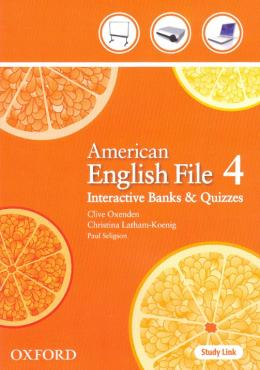 AMERICAN ENGLISH FILE 4 INTERACTIVE BANKS AND QUIZZES CD-ROM - 1ST ED