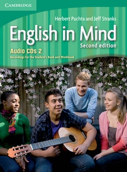 ENGLISH IN MIND 2 CD (3) SECOND EDITION