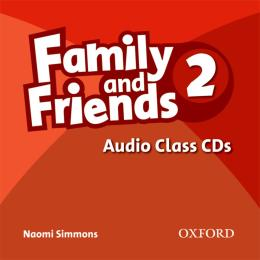 FAMILY AND FRIENDS 2 AUDIO CD (3)
