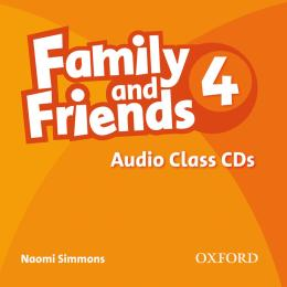 FAMILY AND FRIENDS 4 AUDIO CD (3)
