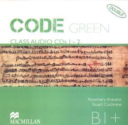 CODE GREEN B1+ AUDIO CD