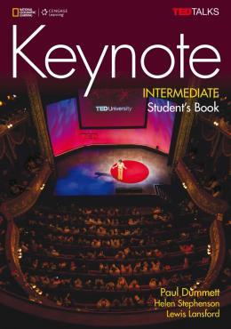 KEYNOTE INTERMEDIATE STUDENT´S BOOK WITH DVD ROM - BRITISH