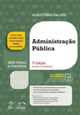 ADMINISTRACAO PUBLICA - 7ª ED