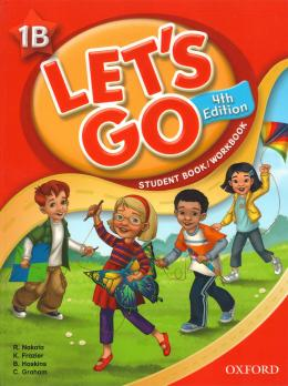 LETS GO 1B STUDENT BOOK/WORKBOOK  WITH MULTI-ROM PACK - FOURTH EDITION