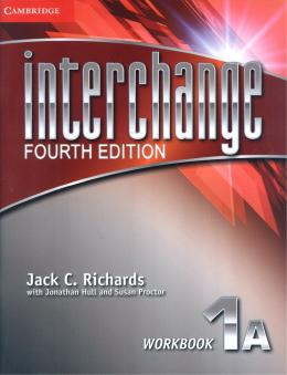 INTERCHANGE 1 AWORKBOOK - FOURTH EDITION