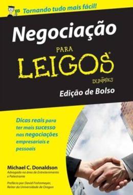 NEGOCIACAO PARA LEIGOS – EDICAO DE BOLSO - 2º EDICAO