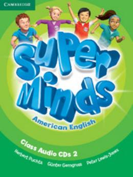 SUPER MINDS AMERICAN ENGLISH 2 CLASS AUDIO CDS - 1ST ED