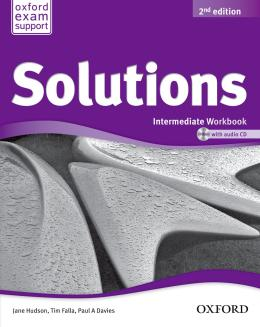 SOLUTIONS INTERMEDIATE - WORKBOOK AND AUDIO CD PACK - SECOND EDITION