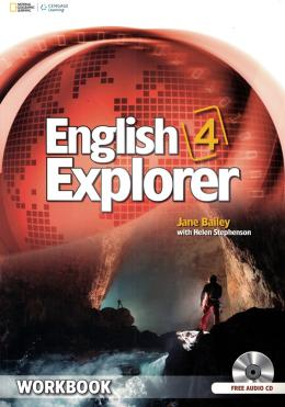 ENGLISH EXPLORER 4 - WORKBOOK WITH WORKBOOK AUDIO CD