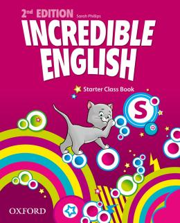 INCREDIBLE ENGLISH STARTER CLASS BOOK - SECOND EDITION