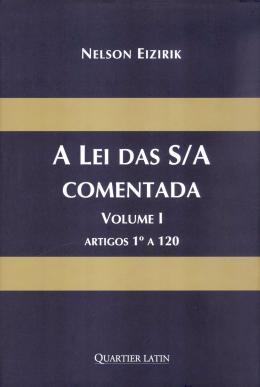 LEI DAS S/A COMENTADA - 3 VOLS