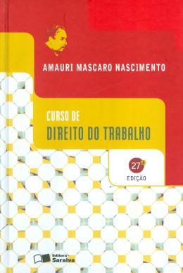CURSO DE DIREITO DO TRABALHO - 27º EDICAO