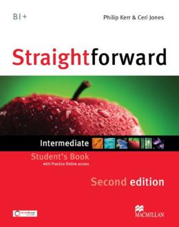STRAIGHTFORWARD INTERMEDIATE STUDENTS BOOK WITH WEBCODE - 2ND ED