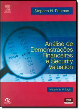 ANALISE DE DEMONSTRACOES FINANCEIRAS E SECURITY VALUATION