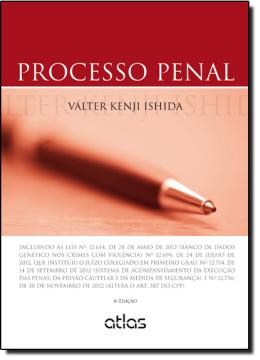 PROCESSO PENAL - 4ª EDICAO