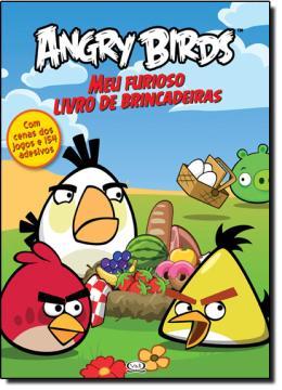 ANGRY BIRDS - MEU FURIOSO LIVRO DE BRINCADEIRAS