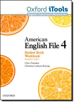 AMERICAN ENGLISH FILE 4 SB/WB ITOOLS - 1ST ED