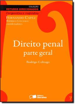 DIREITO PENAL PARTE GERAL - 3º EDICAO