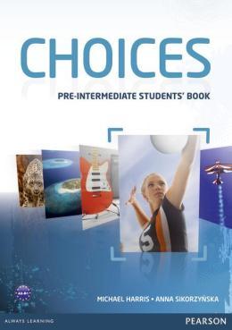 CHOICES PRE-INTERMEDIATE STUDENT´S BOOK - 1ST ED