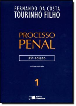 PROCESSO PENAL - VOL. 1 - 35ª ED