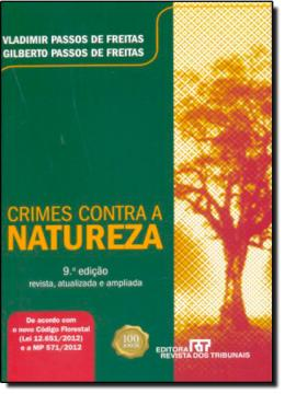 CRIMES CONTRA A NATUREZA - 9ªED.