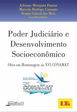 PODER JUDICIARIO E DESENVOLVIMENTO SOCIOECONOMICO