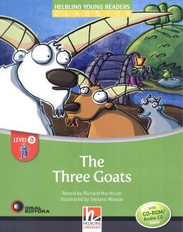 THREE GOATS - LEVEL A- WITH CD-ROM  - DIS - DISAL EDITORA
