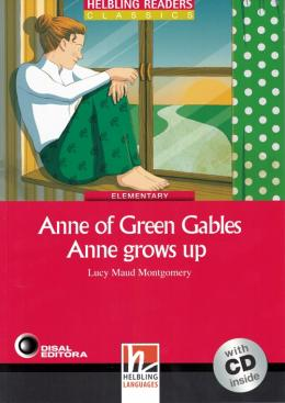 ANNE OF GREEN GABLES ANNE GROWS UP - ELEMENTARY  - DIS - DISAL EDITORA