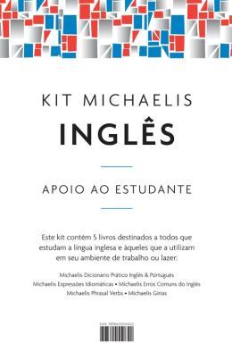 KIT MICHAELIS INGLES APOIO AO ESTUDANTE