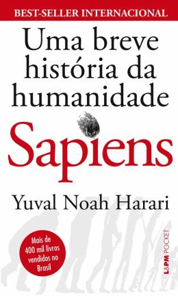 SAPIENS - UMA BREVE HISTORIA DA HUMANIDADE - POCKET