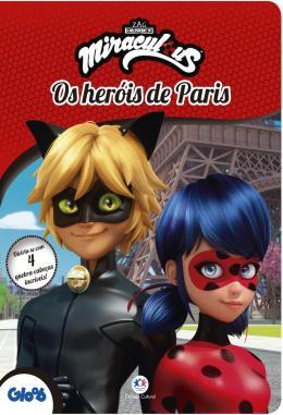 MIRACULOUS LADYBUG - OS HEROIS DE PARIS - DIVIRTA-SE COM 4 QUEBRA-CABECAS INCRIVEIS!