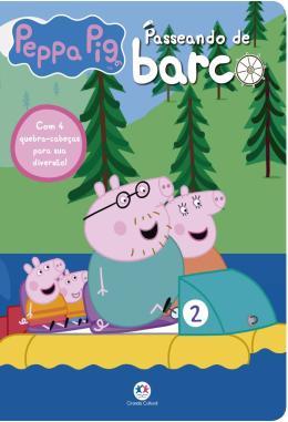 PEPPA PIG - PASSEANDO DE BARCO - COM 4 QUEBRA-CABECAS PARA SUA DIVERSAO!