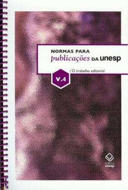 NORMAS PARA PUBLICACOES DA UNESP - VOLUME 4