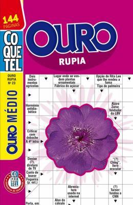 OURO RUPIA - NIVEL MEDIO - VOL. 23