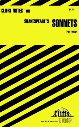 CLIFFSNOTES ON SHAKESPEARE´S SONNETS