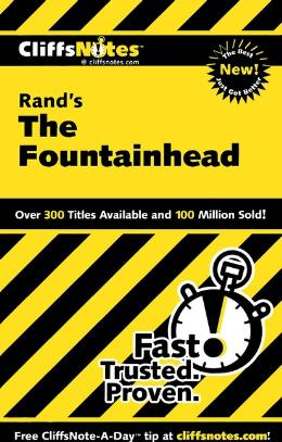 CLIFFSNOTES ON RAND´S THE FOUNTAINHEAD