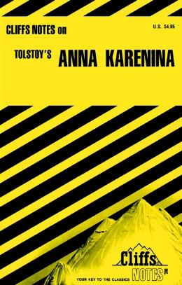 CLIFFSNOTES ON TOLSTOY´S ANNA KARENINA